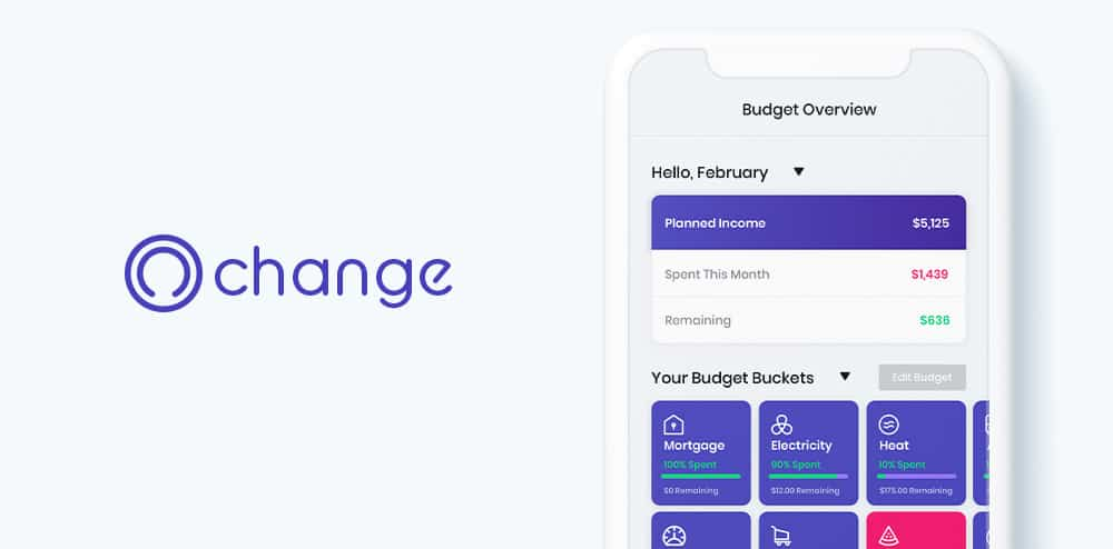 Introduction to the newest personal budgeting app (yours truly): Change.